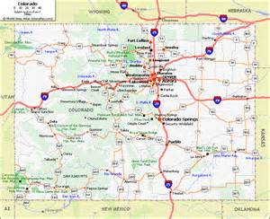 colorado state map with cities and counties colorado counties map