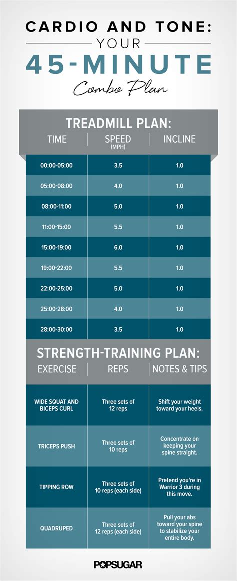 weight loss 90 minutes of cardio 45 minute plan with treadmill popsugar fitness