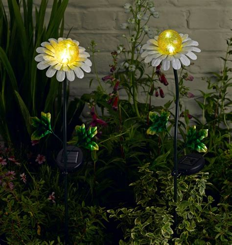 garden solar spot lights great ideas decorative solar garden lights the landscape