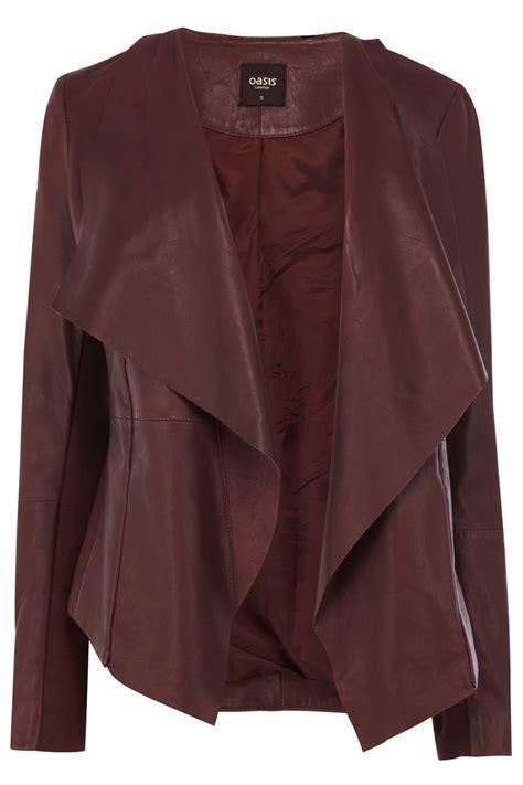 waterfall jacket oasis oxblood waterfall jacket nyc style