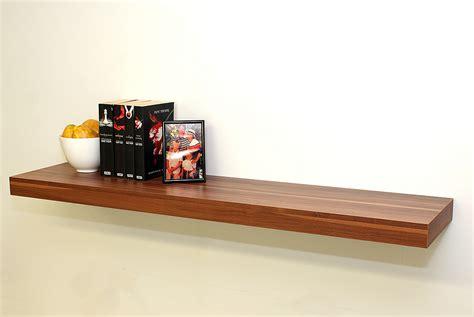 Shelf Kits by Walnut Floating Shelf Kit 1150x250x50mm Mastershelf