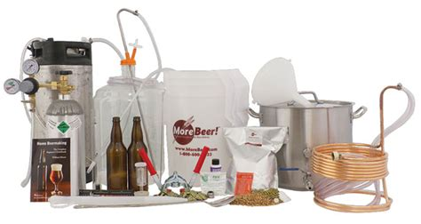 personal home brewery kit 5 kegging deluxe with