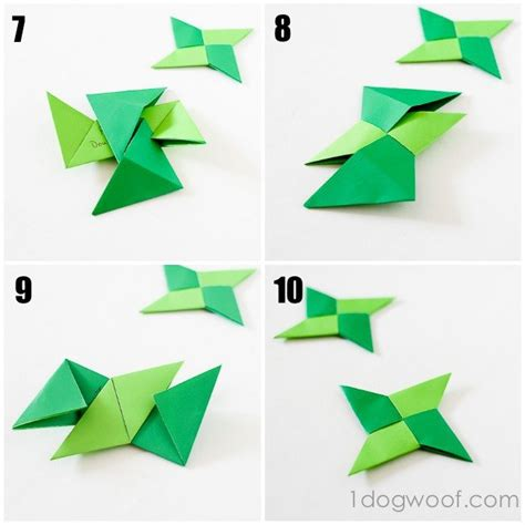 How To Make A Origami Shuriken - paper step by step www pixshark images
