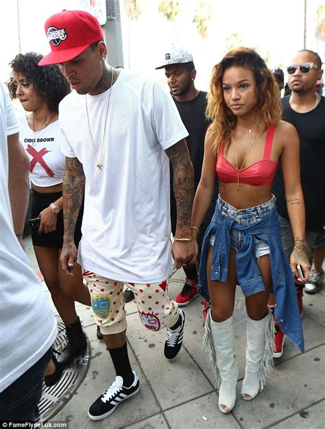 karrueche tran pregnant chris browns girlfriend preparing her life chris brown shares racy snap of girlfriend karrueche tran