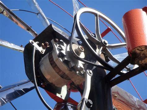 wind generator with car alternator