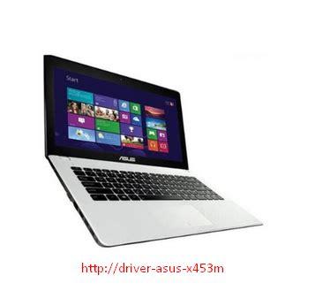 Laptop Asus Dual X453m diriver asus x453m x453ma