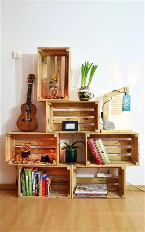 mueble con caja de frutas hacer muebles con cajas de madera muebles con cajones de