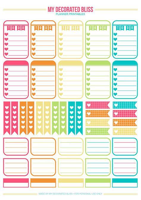 printable planner decorations 15 free planner printables