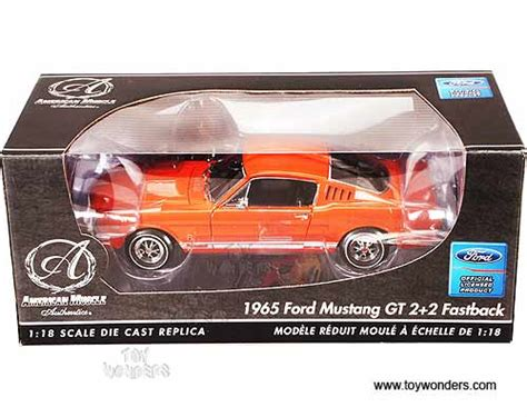 Ertl Authentics American 1965 Ford Mustang Gt 2 2 Fastback 1965 ford mustang gt 2 2 fastback top by rc2 ertl authentics car 1 18 scale diecast