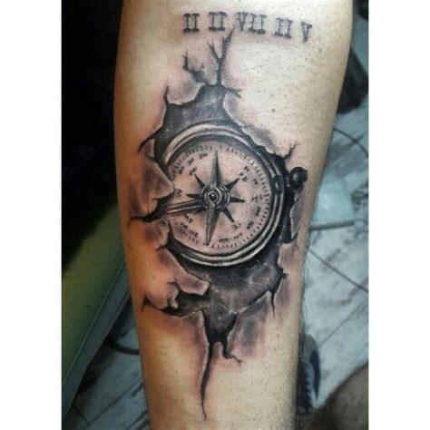compass virgo tattoo compass tattoo cracked tattoo black and gray tattoos