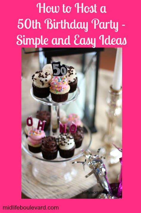 Ideas For 50th Birthday Decorations by Simple And Easy 50th Birthday Ideas Midlife Boulevard