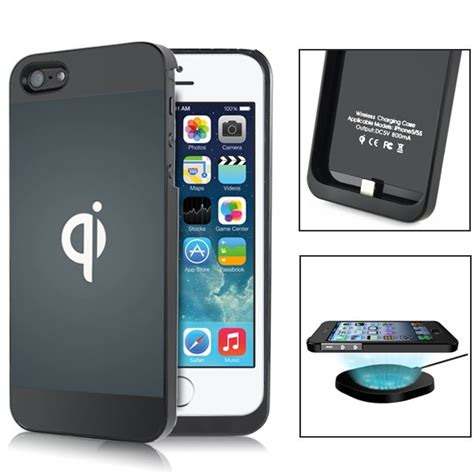 coque recharge qi iphone 5 5s magasin en ligne gonser