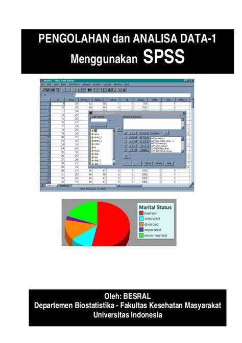 Belajar Alat Analisis Data Spss modul belajar spss 1
