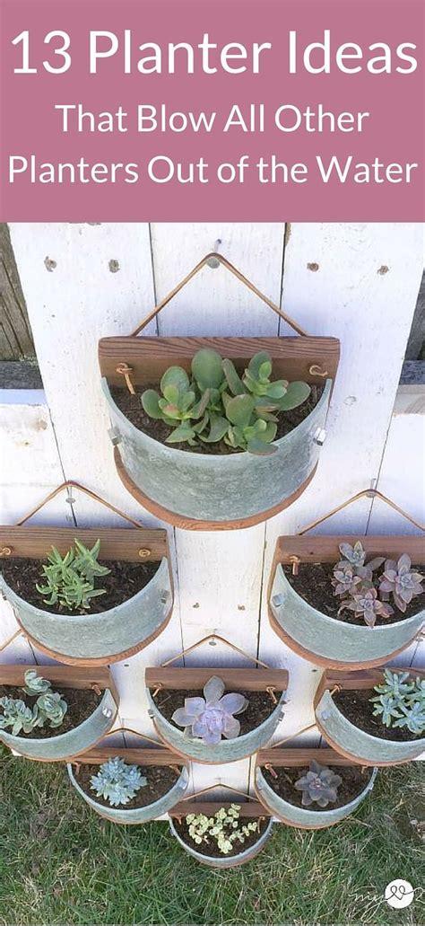 unique planters 13 planter ideas we love unique planters and love