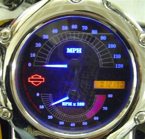 Harley Davidson Tachometer by Combination Speedometer Tachometer Harley Davidson Forums
