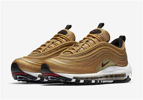 Nike Air Max 97 Gold 2017 nike air max 97 metallic gold release date sneakernews