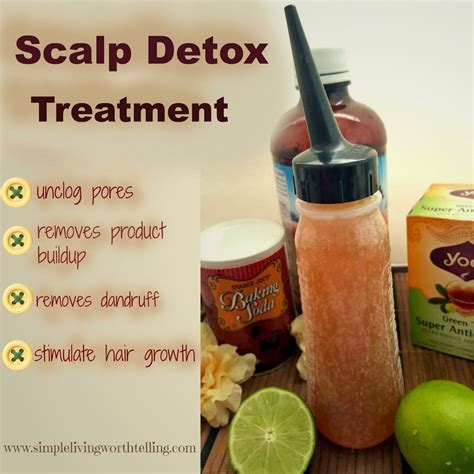 Can Detoxing Cause Hair Loss by Simple Living Worth Telling Diy Scalp Hair Detox