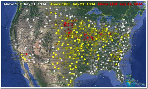 Records In Ohio July 21 1934 Day On Record In Ohio The Deplorable Climate Science