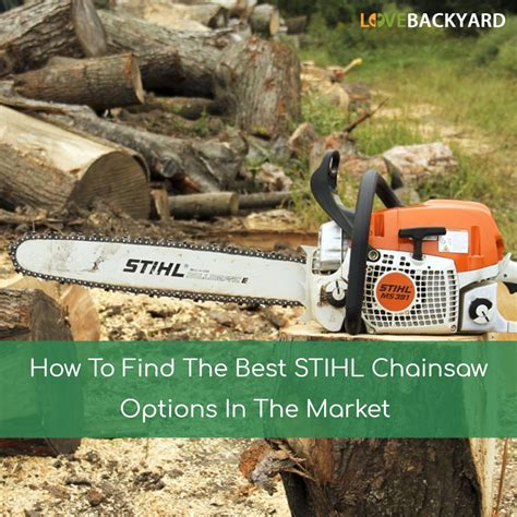 best stihl chainsaw the 5 best sithl chainsaws reviews ratings mar 2018