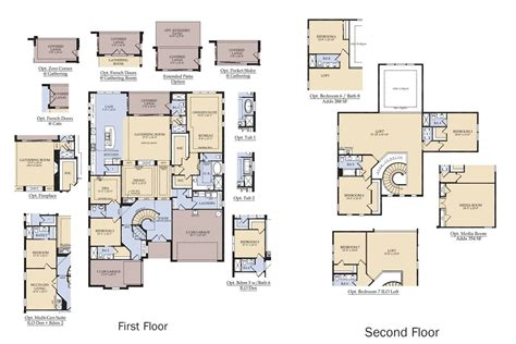 Floor Plans Of Homes In The Villages Fl The Villages New Home Floor Plans