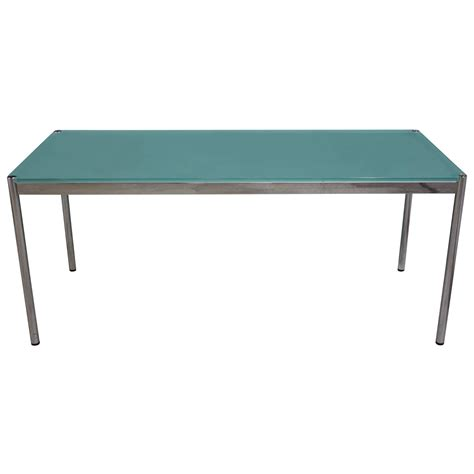 minimalist all glass dining table at 1stdibs usm haller glass table for sale at 1stdibs