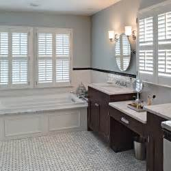 classic carrara marble bath montclair bathroom design master traditional