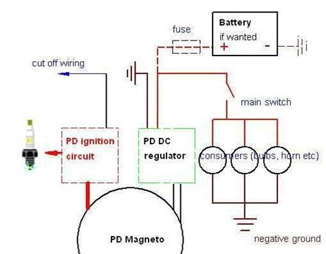 motorcycle wiring diagram without battery wiring diagram