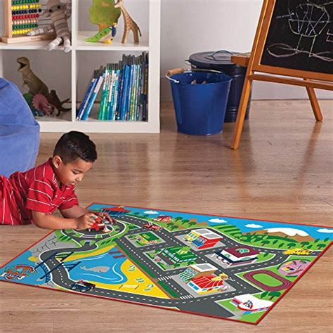 Paw Patrol Adventure Bay Interactive Game Rug Home Garden Interactive Rugs