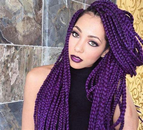 1000 ideas about purple box braids on pinterest box 1000 id 233 es sur le th 232 me purple box braids sur pinterest