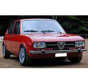 Alfa Romeo Alfasud Technical Details History Photos On