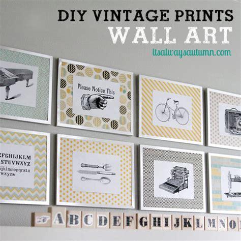 21 diy vintage wall decor ideas the graphics fairy 40 diy wall art ideas for living room