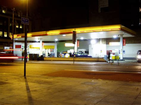 Local Shell Garage by Shell Garage Closed By Protest In Uk Indymedia