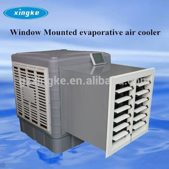evaporative room air cooler ectr 6000m3 h water air conditioner window duct evaporative