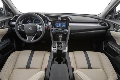 interior honda civic 2016 honda civic first test review motor trend