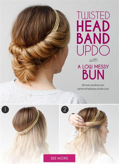 how do you do a messy bun upgrade your tuck and cover with a low messy bun low