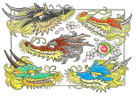 tattoo flash bedding bananajims irezumi flash sheets