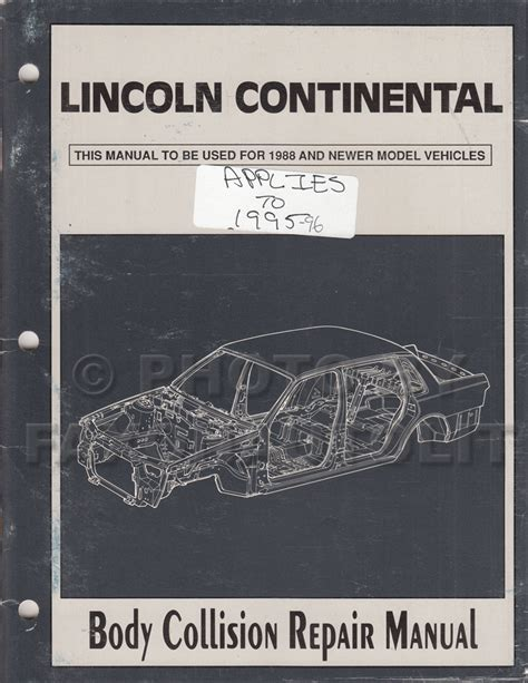 electric and cars manual 1996 lincoln continental regenerative braking 1994 lincoln continental electrical and vacuum troubleshooting manual