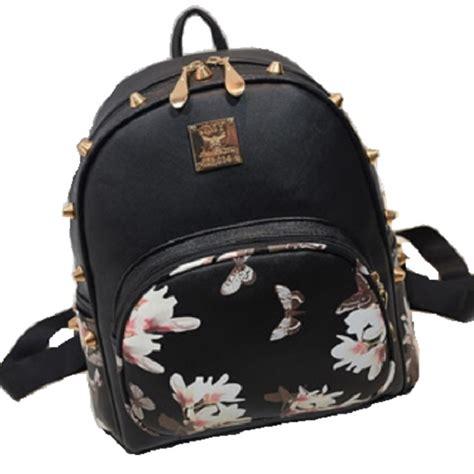 buy korean trending rivet leather travel school
