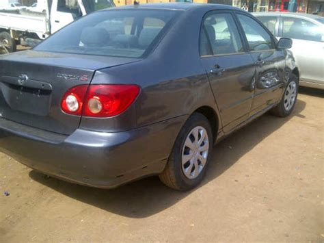 Value Of Toyota Corolla 2005 Tokunbo Toyota Corolla 2005 Sport Edition Cars