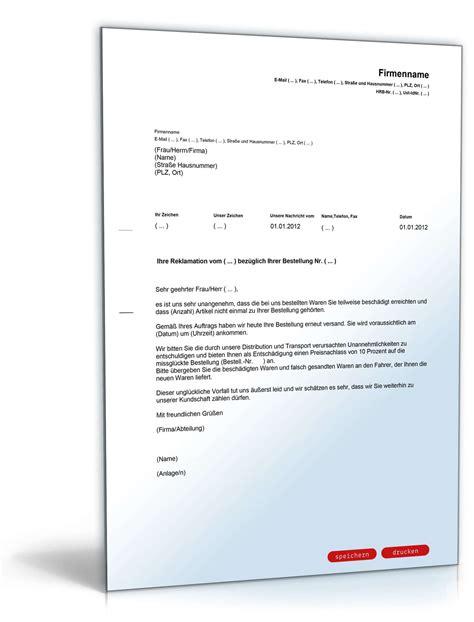 Angebot Nachfassen Musterbrief Englisch rabatt angebot nach reklamation englisch