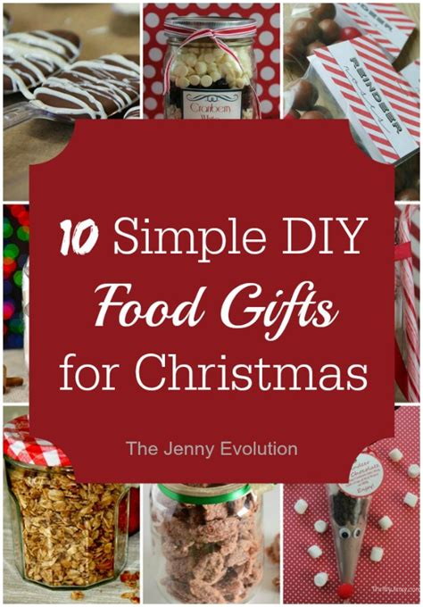 12 easy diy food gifts for christmas the jenny evolution