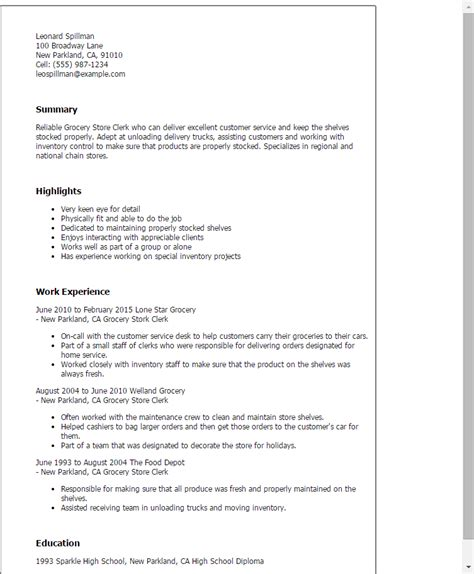 Grocery Store Clerk Cover Letter by Supermarket Cashier Duties Resume Sles Persepolisthesis Web Fc2