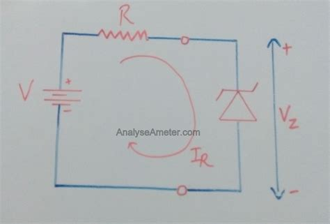 diode characteristics diagram zener diode working and application