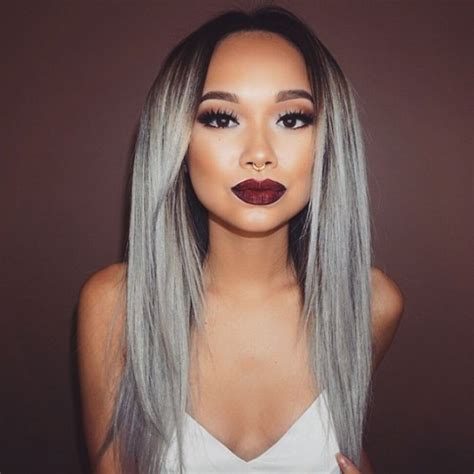 grey hair trend 2015 the grey hair trend is huge for spring summer 2015