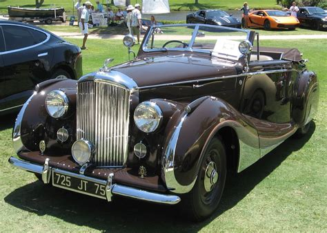 vintage bentley coupe 1947 bentley convertible by franay of paris photo b