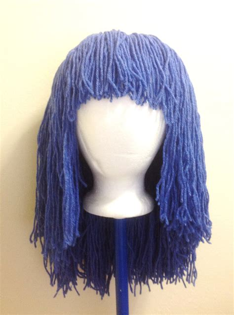 Handmade Wigs - handmade crochet yarn hair wig pattern tutorial pattern