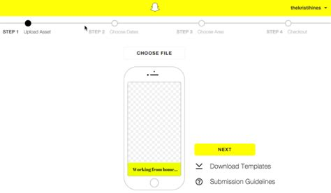 How To Create A Snapchat Geofilter For Your Event Social Media Examiner Free Snapchat Geofilter Template