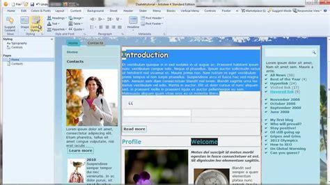 tutorial artisteer joomla joomla 3 tutorials artisteer setting up the content