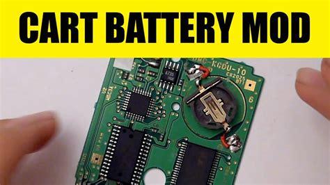 mod gameboy cartridge gameboy cartridge battery mod game save battery holder