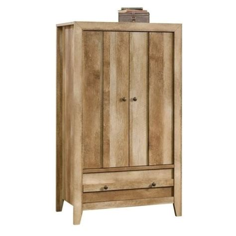 craftsman armoire bowery hill armoire in craftsman oak bh 657465